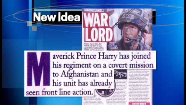 Article image for Prince Harry 'broken' by Australian women's magazine in 2008