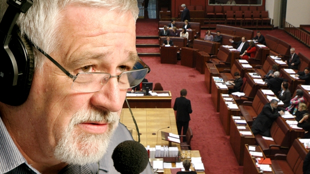 Article image for Neil Mitchell pans marathon Senate debate as 'a circus and a waste of time'