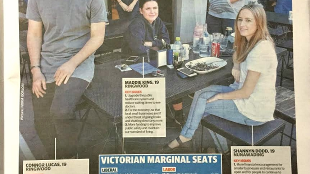 Article image for There's something peculiar about this poll in the Herald Sun today…