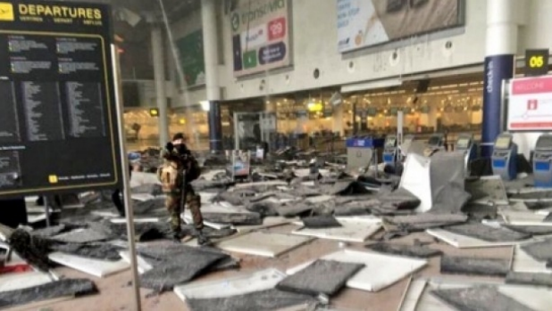 Article image for UK and US reactions to Brussels bombings