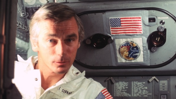 Article image for INTERVIEW: Neil Mitchell speaks with Eugene Cernan, the last man on the moon