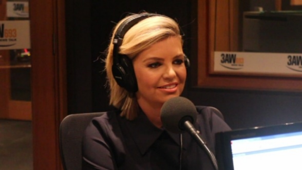 Article image for New Footy Show host Rebecca Maddern joins Neil Mitchell in studio
