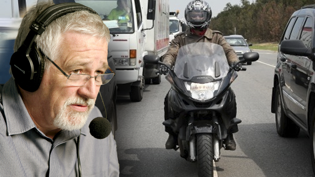 Article image for Neil Mitchell clashes with motorcycle advocate