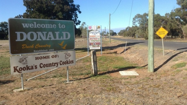 Article image for Your Town: 3AW Drive visits Donald