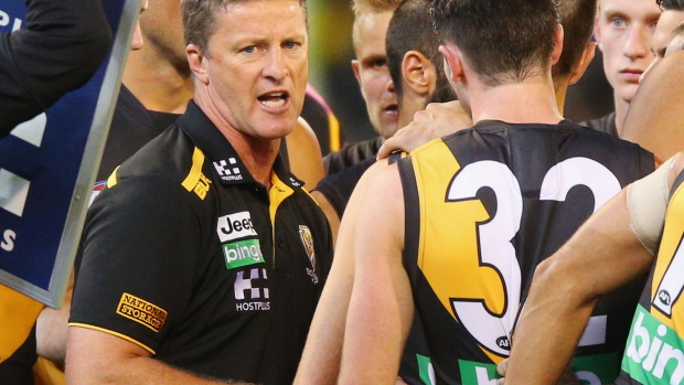 Article image for 'We'll still make the eight,' says Richmond coach Damien Hardwick