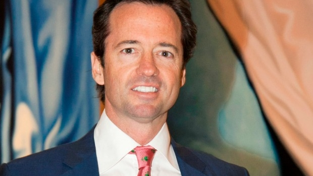 Article image for Broadcaster Hamish McLachlan recovering in hospital after horse accident