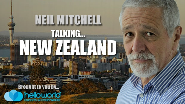 Article image for Neil Mitchell in New Zealand