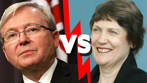 Article image for New Zealand 'at war' with ex PM Kevin Rudd