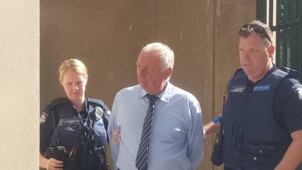 Article image for Ian Jamieson has been jailed for life for killing his three neighbours at Wedderburn