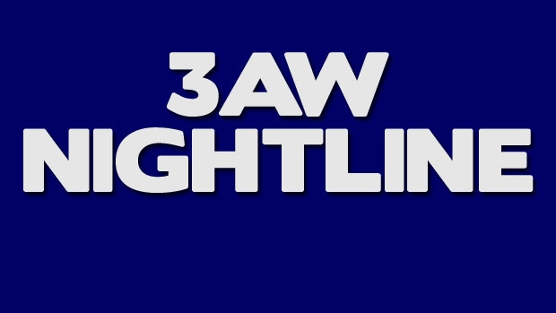 Article image for 3AW Nightline podcasts