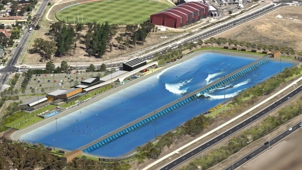 Article image for Massive surf park and wave pool to be built next to Melbourne Airport