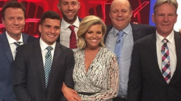 Article image for Rebecca Maddern 'very impressive' on The Footy Show, says Peter Ford