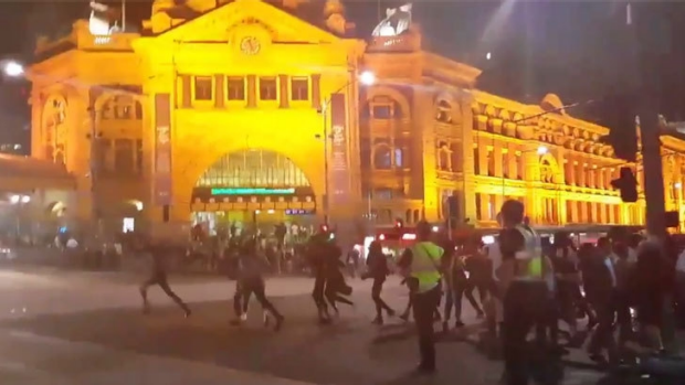 Article image for 24 charged over Moomba riots