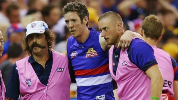 Article image for Bulldogs confirm Robert Murphy has ruptured his ACL