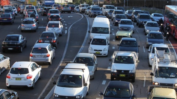 Article image for Australians don't want to catch trains and would rather sit in traffic