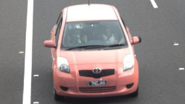 Article image for Man wrongly fined $30,000 for speeding, as hunt begins for pink Yaris