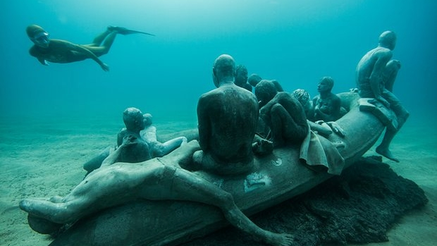 Article image for Underwater sculptures proposed for Port Phillip Bay