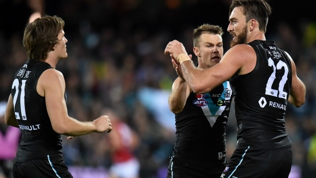 Article image for Port Adelaide to play for premiership points in China next season
