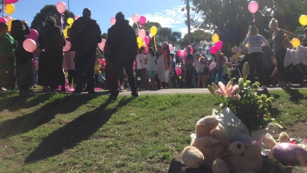 Article image for Melbourne says goodbye to baby Sanaya