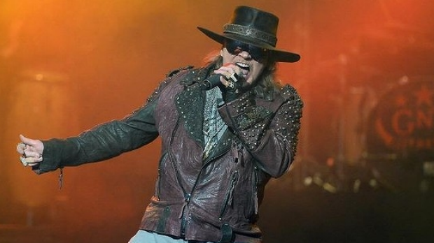 Article image for Axl Rose joins AC/DC and is John Burns set to replace Axl in 'Guns N Roses'?