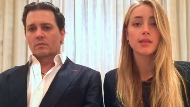 Article image for Johnny Depp and Amber Heard release apology video over dogs Pistol and Boo