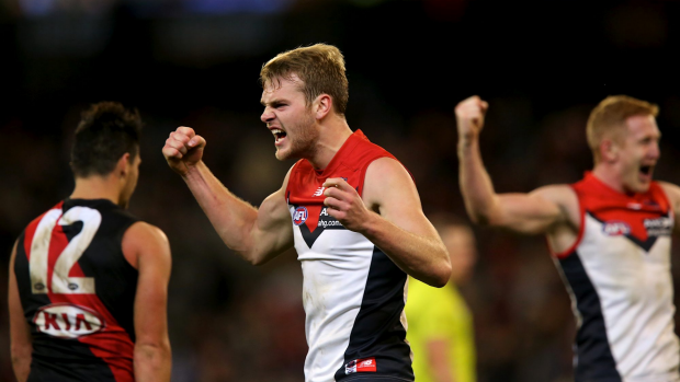 Article image for Jack Watts getting reward for attitude, says Demon defender