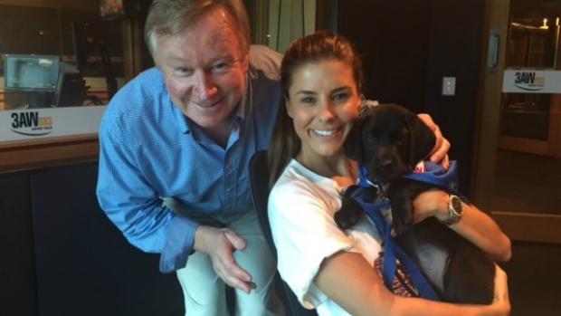 Article image for Lauren Phillips raising awareness for Seeing Eye Dogs Australia