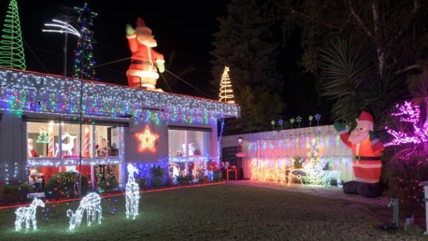 Article image for Newtown home for sale, but the buyer must continue a 25 year Christmas tradition