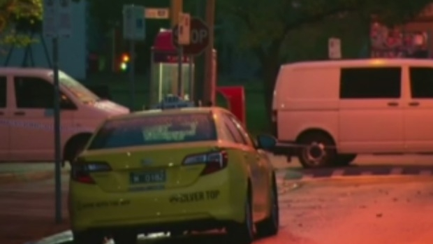 Article image for Taxi driver stabbed to death near Fitzroy Town Hall