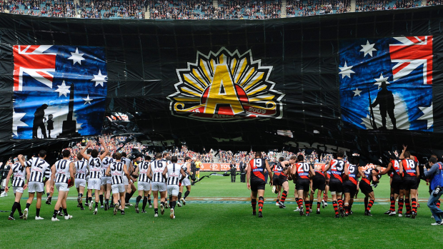 Article image for GAME DAY: Collingwood v Essendon, Anzac Day at the MCG   3AW Radio