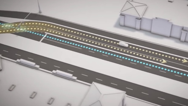 Article image for Hoddle Street to get continuous intersection system to ease congestion, based on Utah model