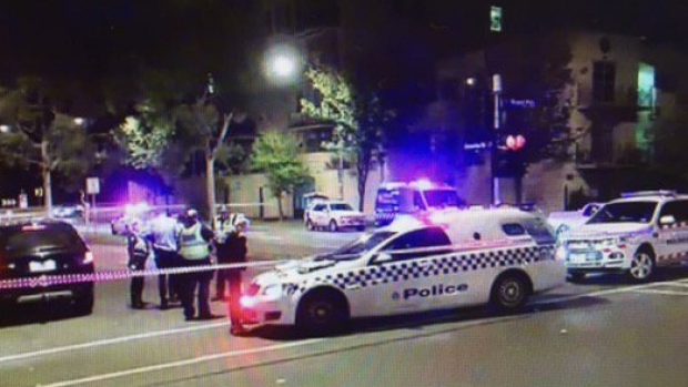 Article image for Two men shot near Melbourne University