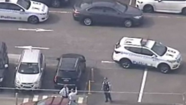 Article image for At least one dead after reports of shooting in Bankstown shopping centre car park, Sydney