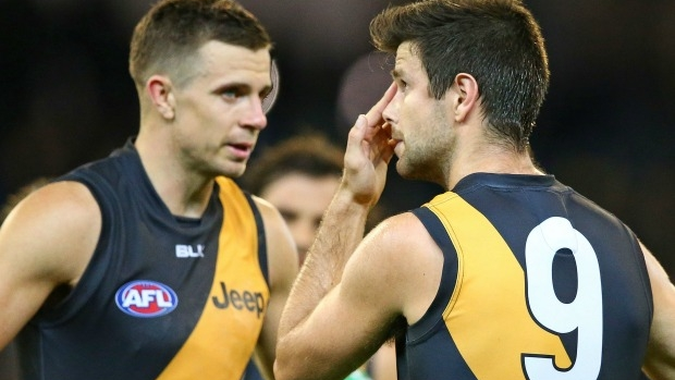Article image for Matthew Lloyd says Richmond needs to go back to the draft, should consider trading Brett Deledio
