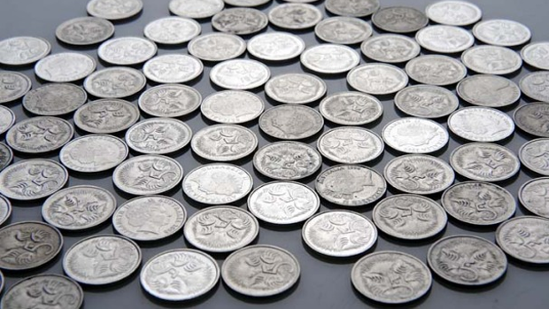 Article image for Melbourne woman collects 5 cent coins since 1993 and donates to charity