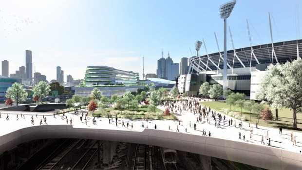 Article image for MCG could be in for a billion dollar makeover