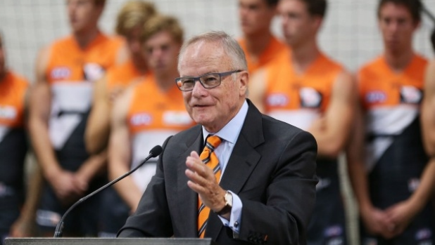 Article image for GWS chairman Tony Shepherd threatens to quit if AFL recruiting zones are changed