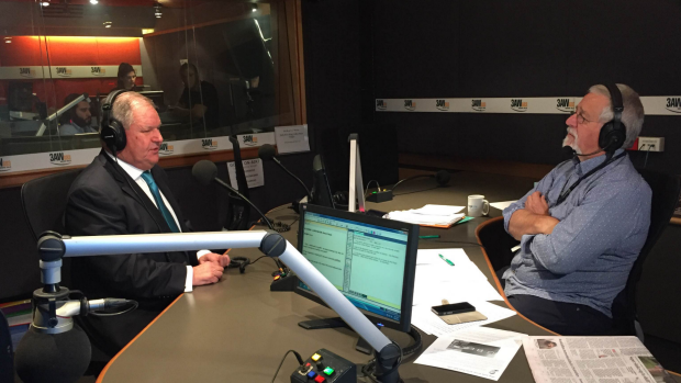 Article image for Lord Mayor Robert Doyle chats with Neil Mitchell about his budget