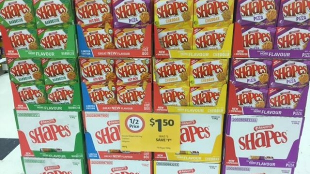 Article image for WORD ON THE STREET: 'New and improved' Shapes biscuits already on sale