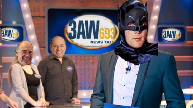 Article image for Ross and John get quizzed by Senior Constable Adam West