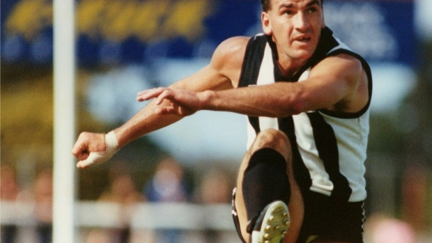 Article image for Tony Shaw has 'no doubt' Darren Millane would have replaced him as Collingwood captain