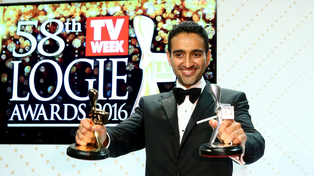 Article image for Waleed Aly speaks with Neil Mitchell after winning the Gold Logie