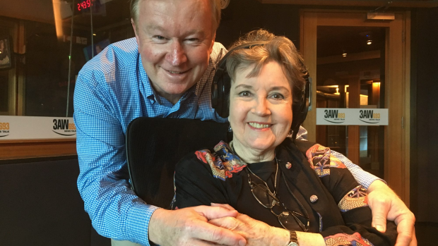 Article image for Lorraine Bayly tells Denis Walter about taking 'break a leg' too literally
