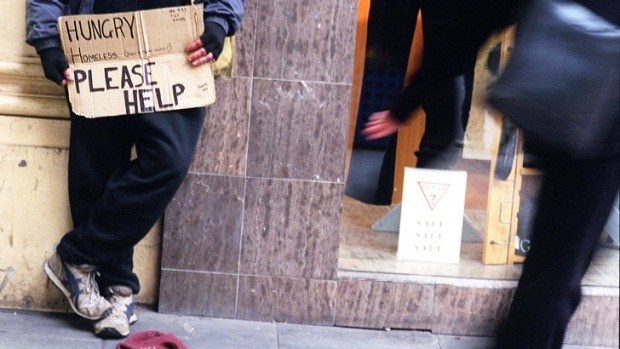 Article image for Calls for something to be done about aggressive beggars in Melbourne's CBD