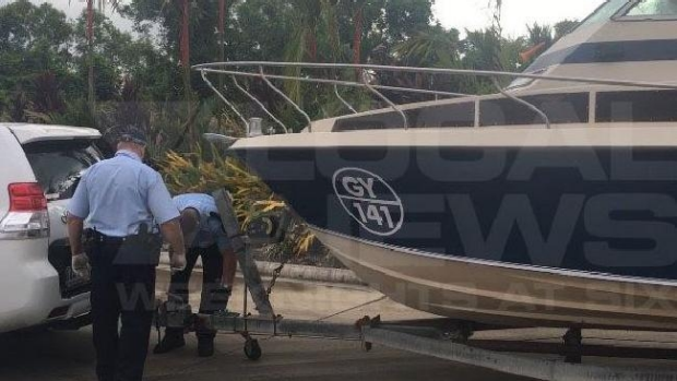 Article image for Five men arrested over an alleged plot to travel on a small boat to join ISIL