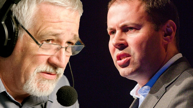 Article image for Neil Mitchell's frustrating exchange with Josh Frydenberg about superannuation