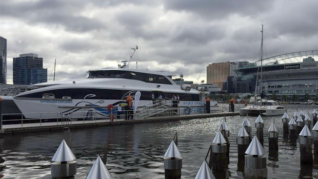 Article image for VIDEO: A trip on the Wyndham Explorer – Melbourne's new ferry