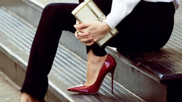 Article image for Etiquette expert says it's fine for a receptionist to be sent home for not wearing heels
