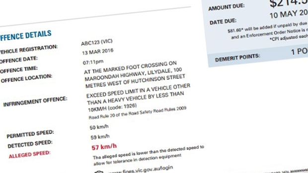 Article image for New simple fine notices for Victoria