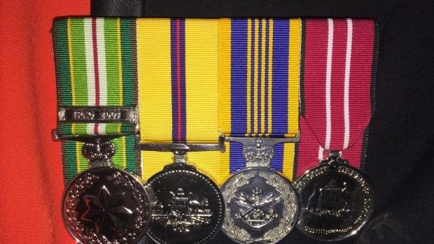 Article image for Returned: Iraq war veteran's stolen medals have been returned